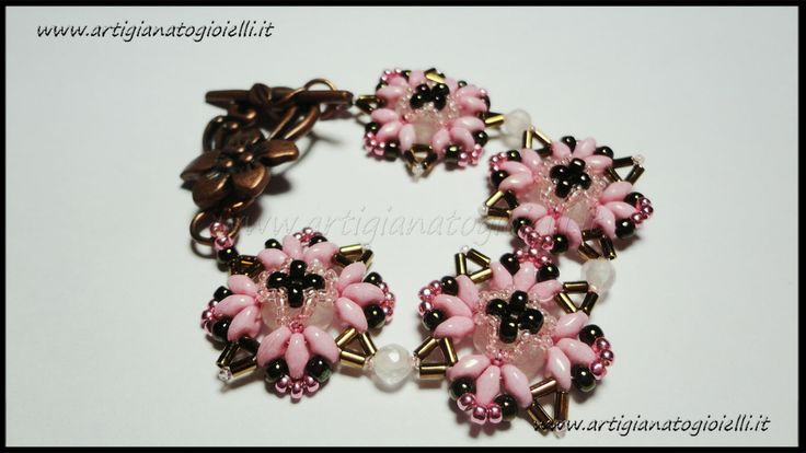 #superduo #twinbeads #beadwork http://youtu.be/fLfGCa-C4js