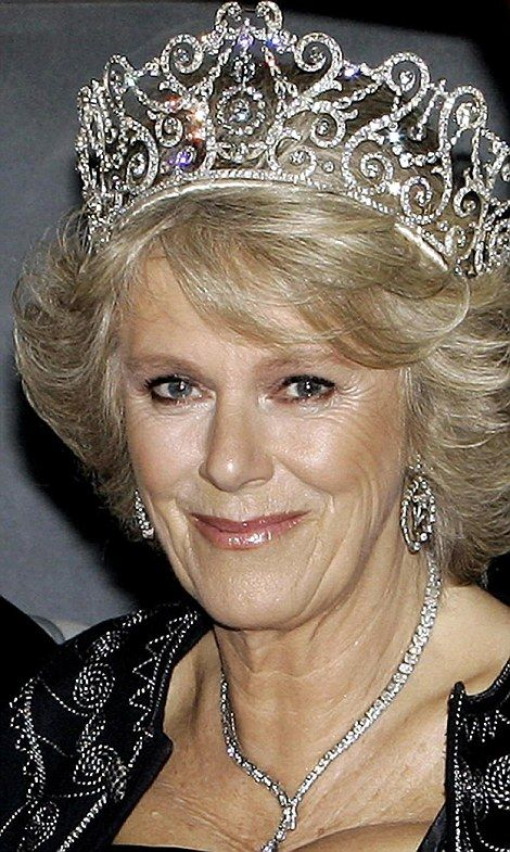 Camilla wore the Delhi Durbar tiara, made in 1911, in 2005 for a state banquet to welcome the Norwegian royals