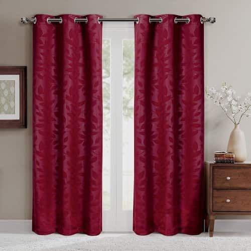 Elegant 15 Impressive Burgundy Curtains For Living Room To Buy Part 30