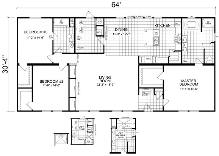 17 best images about floor plans on pinterest house for Mobile home roof over plans