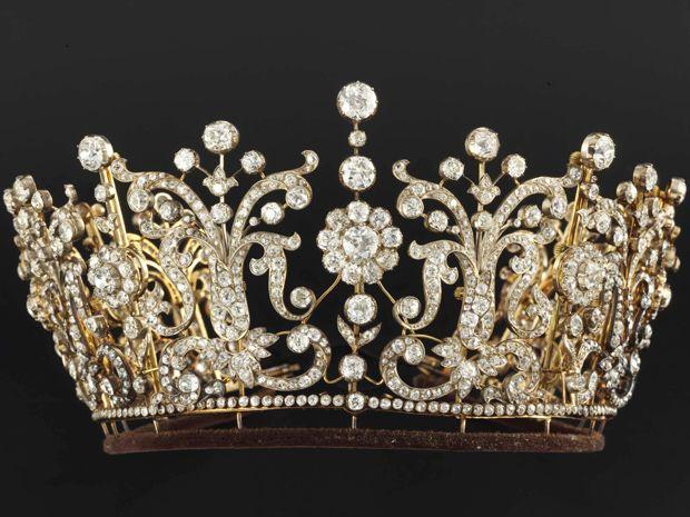 Poltimore tiara of Princess Margaret of Great Britain (=)