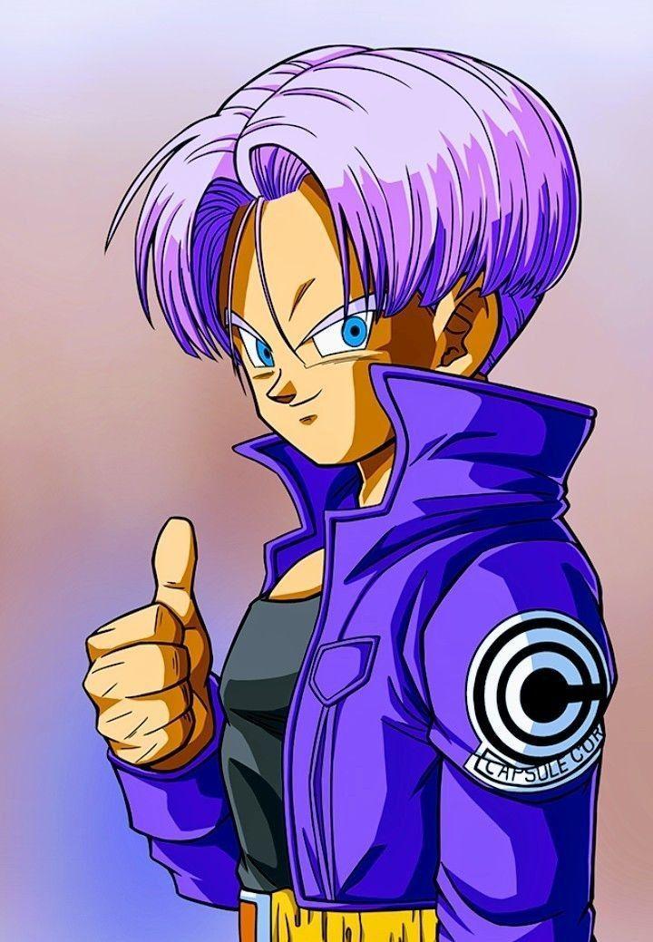 Trunks Dragon Ball Gt Personajes De Dragon Ball Personajes De Goku Personajes Ilustracion