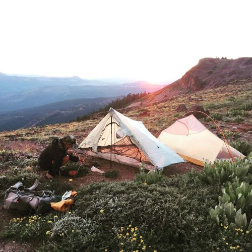 """camptrend: """" A campspot along the Pacific Crest Trail between Tinker Knob & Donner Pass. check out the full photo + story on camp trend """""""