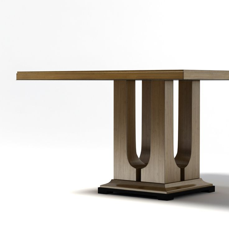 donghia laurent dining table