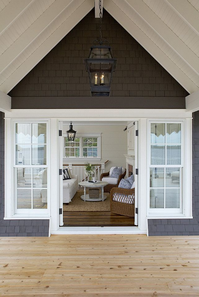 Coastal muskoka living interior design ideas home bunch interior - Best 20 Outdoor Window Trim Ideas On Pinterest Starter