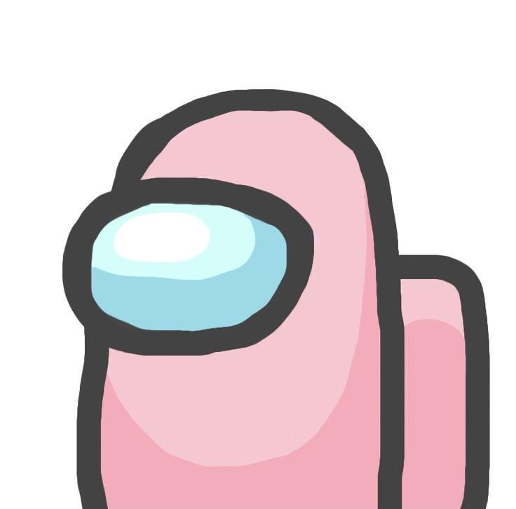 Pink Among Us Logo Cartoon Wallpaper Iphone App Icon Wallpaper Iphone Neon