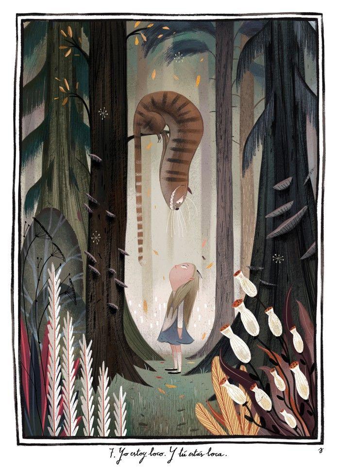 çizgili masallar: Alice in Wonderland by Júlia Sardà