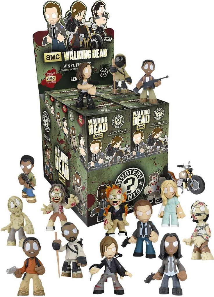 Collectables - The Walking Dead Series 4 Mystery Mini Blind Box