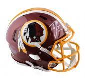 cool Robert Griffin III Autographed Velocity Helmet - Genuine - JSA Witness