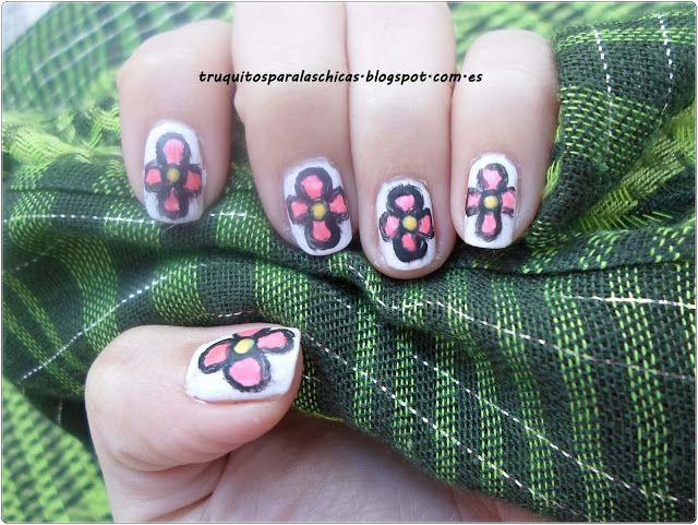 Mejores 73 imágenes de Nail art / Manicuras fáciles en Pinterest ...