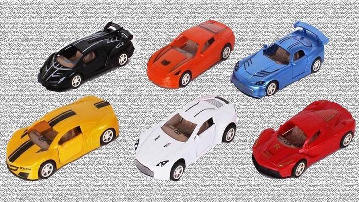 Автогонки на гоночных машинках. Развивающий мультик для детей
