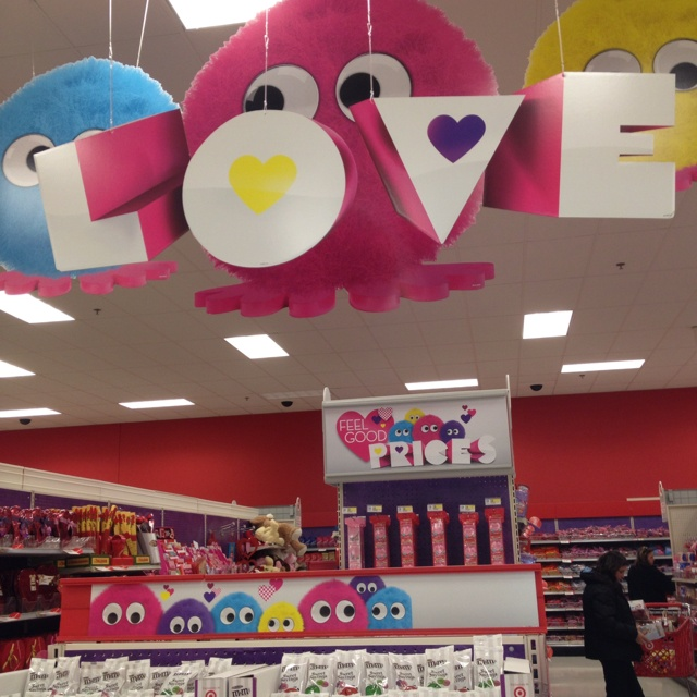 valentine's day at target
