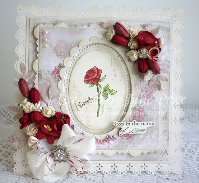 Stop in the Name Tilda and Lovely Rose from the new Lovely Duo collection, Magnolia Paris Red Peony and Eau De Cologne  DP, Doohickey  So Wrapped Lovely Heart Tag and Stitched Scallop Border https://julieprice3.wordpress.com/…/stop-in-the-name-of-lo…/