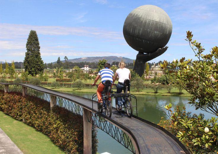 Y ni hablar del placer que da un paseo recreacional en Parque Jaime Duque:
