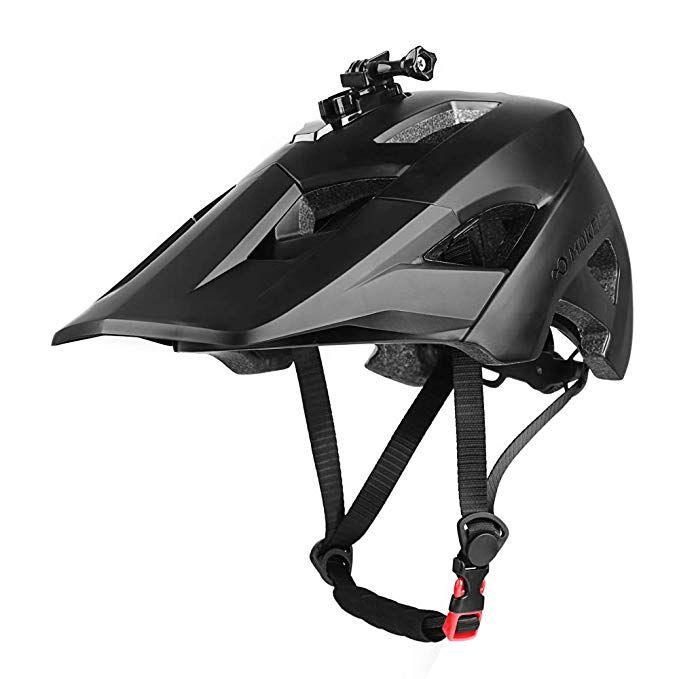 Mokfire Mountain Bike Helmet Detachable Super Long Sun Visor
