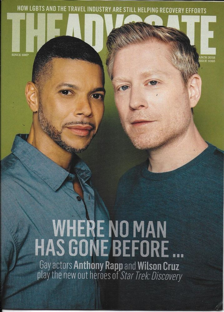 The advocate gay magazine