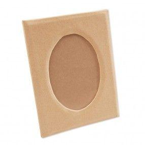 Bilderrahmen oval 16x12cm - Papprahmen - Pappartikel - Basteln - die produkte. - idee. Onlineshop