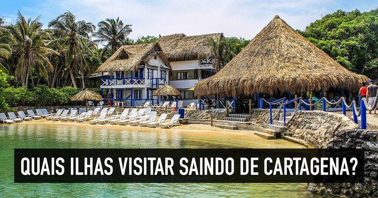 Quer viajar para o Caribe barato? Confira dicas dos passeios para visitar as ilhas próximas a Cartagena - Ilhas do Rosário e outras do Caribe colombiano!