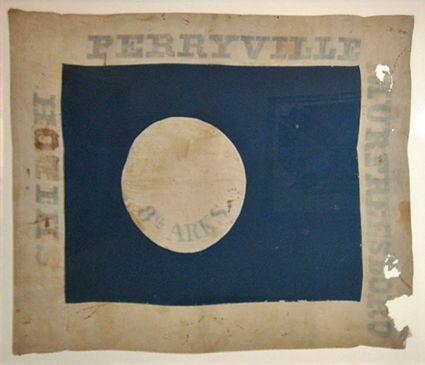8th Arkansas Civil War Confederate Regimental Flags | ... Horror: Civil War Photo Friday: Arkansas Confederate regimental flags