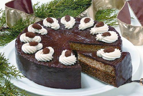 Schokolade-Maronitorte » Kochrezepte von Kochen & Küche