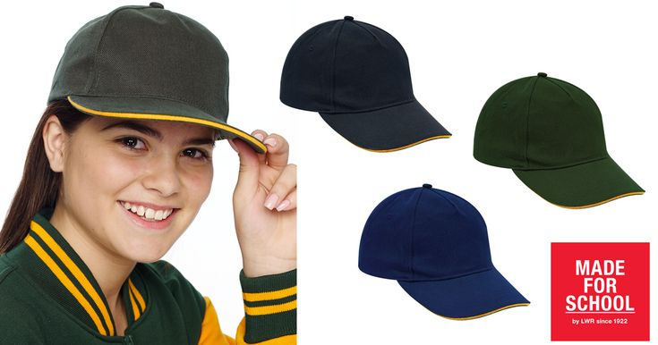 Inbuilt sweat band, UPF rated fabric all finished off in style with our Trumper Baseball Cap, your kids will be set for sport and summer in this cap!