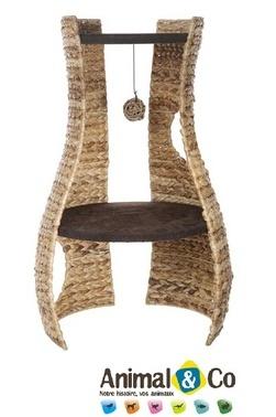 L'arbre à chat Hangout est disponible sur la boutique en ligne : www.animaleco.com