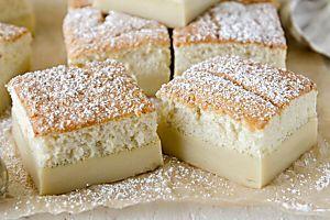 Having A Christmas Party? Try This Vanilla Custard Magic Cake!