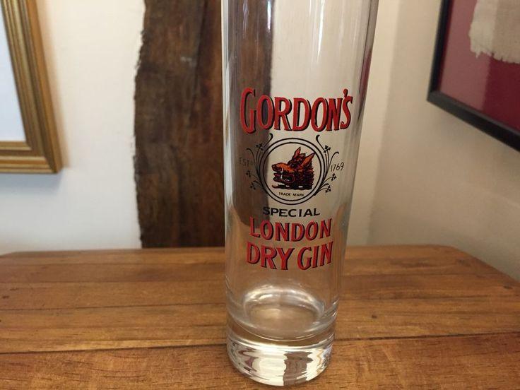 Gordons Gin High Ball Glass 15.5cm HIGH Man Cave Pub Home Bar