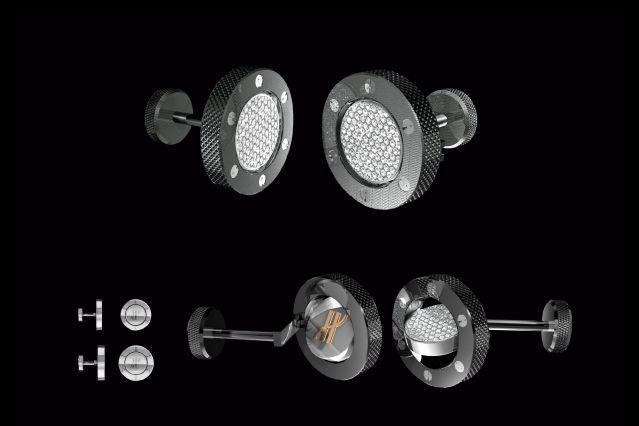 Massimiliano Bonoli - Advanced Design Cufflink