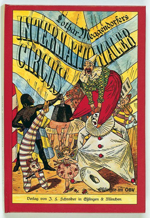 «Internationaler Circus». Descubre este panorama alemán en pop-up con 6 escenas circenses en 3D y abatibles que reproduce en edición facsímil un original de 1887. También disponible en edición mini. https://www.veniracuento.com/content/internationaler-circus