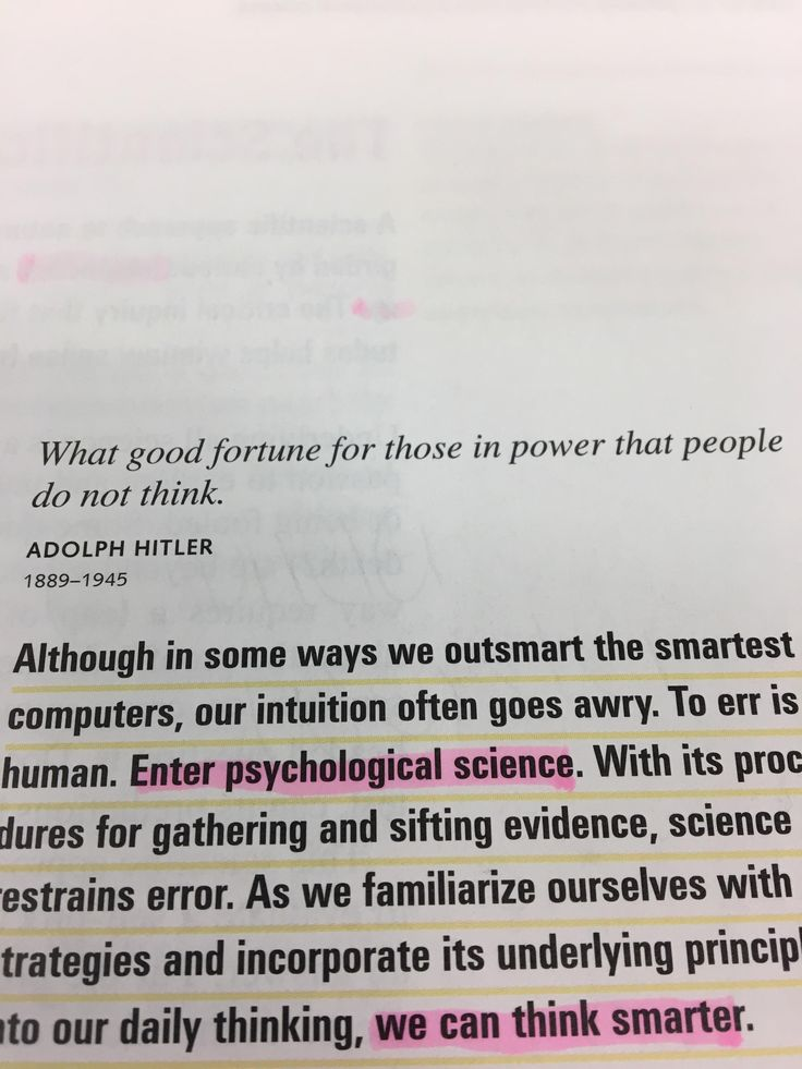 """There's a quote from Adolf Hitler in my Psychology textbook and they spelled it """"Adolph"""""""