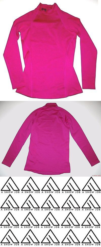 Base Layers 62171: New Under Armour Womens Ski Snowboard Evo Mock Fitted Layering Shirt 1238261 -> BUY IT NOW ONLY: $38.99 on eBay!