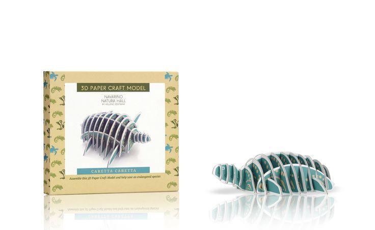 Navarino Icons 3D Paper Craft Model – Caretta Caretta