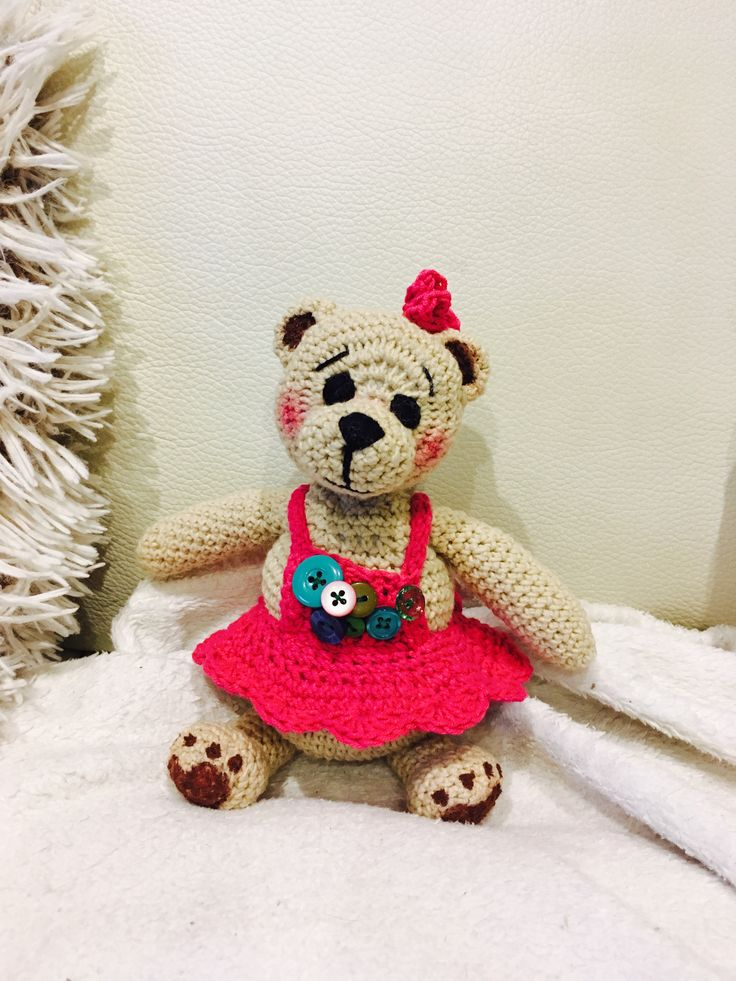 crochet bear girls