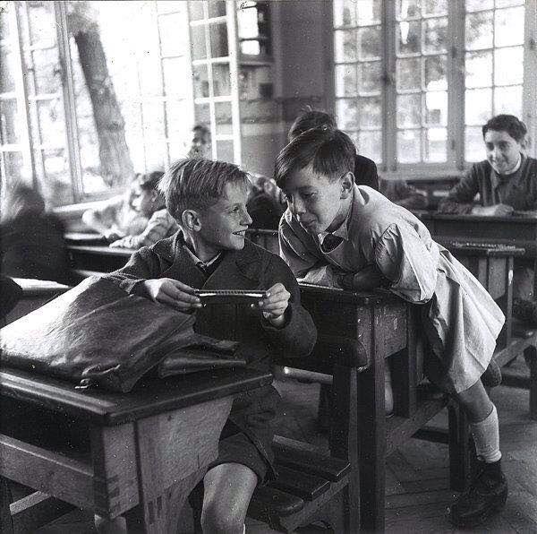 Старая школа картинка