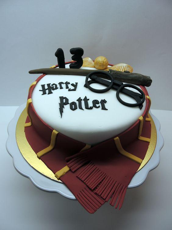 Harry Potter's cake: