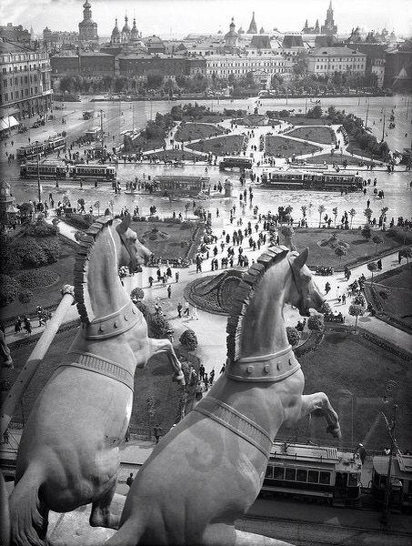 Москва, которой больше нет. Фото сделано в 50-х гг ...