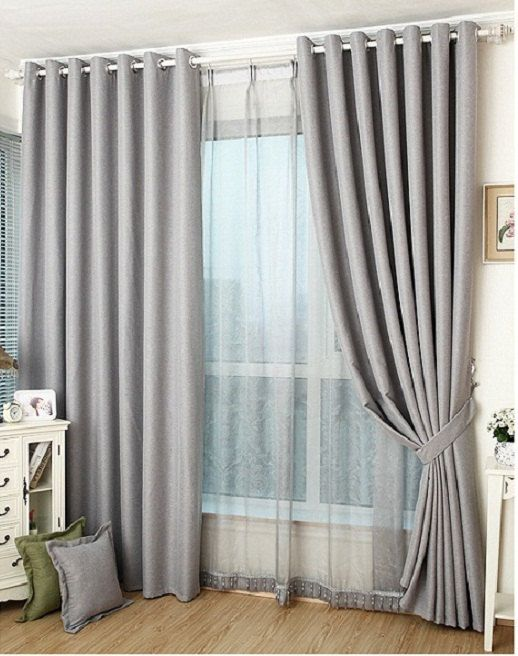 Curtains Ideas best curtain fabric : 17 Best ideas about Grey Blackout Curtains on Pinterest | Grey ...