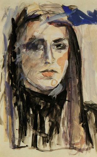 "Mina Papatheodorou Valyraki: ""Self Portrait"", 1982"
