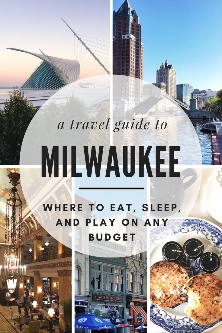 Located just a hop, skip, and a jump away from Chicago along Lake Michigan is the great city of Milwaukee, which is genuinely one of the Midwest's best kept secrets--until now. Use this handy travel guide to navigate your way through the beautiful city of Milwaukee with tips on where to eat, sleep, and play on any budget!