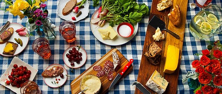 Bastille Day entertaining with Olympic Provisions salami, Murray's cheese and ripe fruit