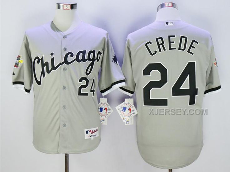 http://www.xjersey.com/white-sox-24-joe-crede-grey-with-2005-world-series-patch-jersey.html WHITE SOX 24 JOE CREDE GREY WITH 2005 WORLD SERIES PATCH JERSEY Only $40.00 , Free Shipping!