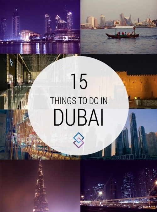 With only 10 years of recent development, Dubai is one of the most modern cities in the world. Here's our list of the top things to do in Dubai!