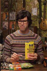 Rhett & Link GIFS. Link eating weird candy.