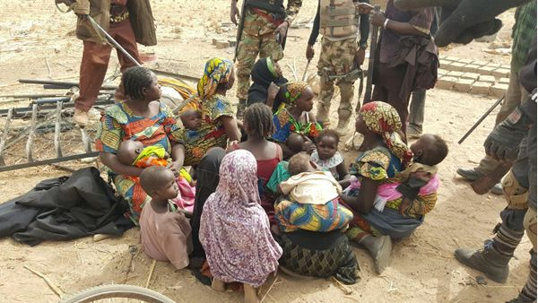 PICTURES: Troops rescue 1890 victims from Boko Haram   Punchng.com  LATEST NEWS
