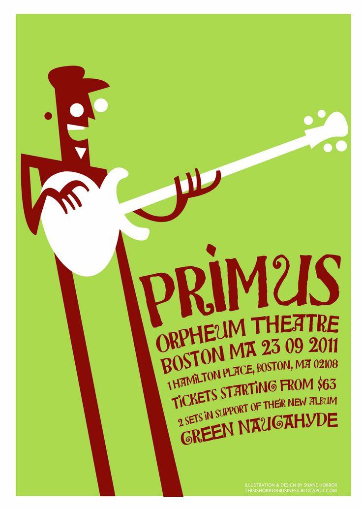 Primus | Orpheum Theatre | Boston, MA | 2011