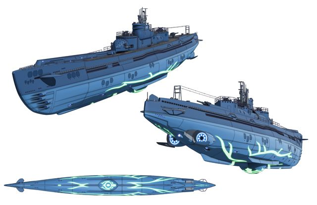modern cruise submarine - Buscar con Google