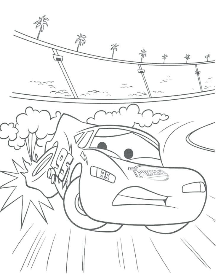 Cars Movie Coloring Pages Lightning Mcqueen Coloring Pages