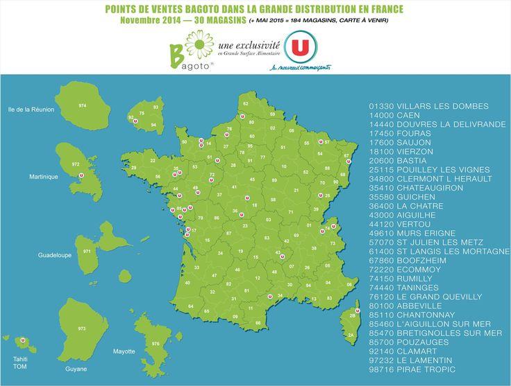 Bagoto dans les HyperU et SuperU à partir du 1er novembre 2014 Villars-les-Dombes - Rhône-Alpes