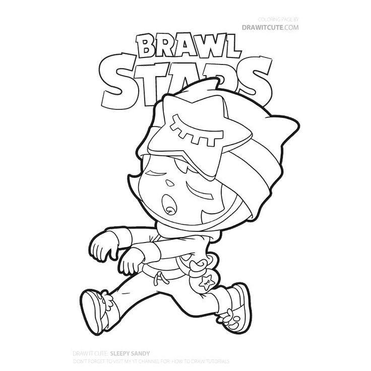 Brawl Stars Printable Coloring Pages In 2020 Kleurplaten Tekenen Knutsel Idee
